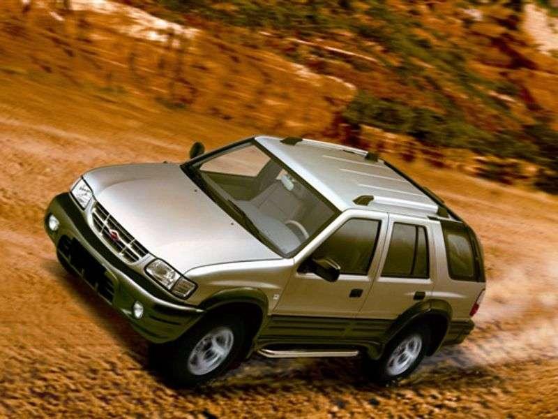 Landwind X6 1st generation 2.4 MT 4WD SUV (2001–2006)