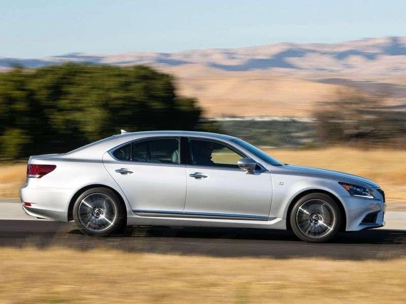 Lexus LS 4th generation [2nd restyling] F Sport sedan 4 doors 600h CVT AWD Luxury (2012 – present)