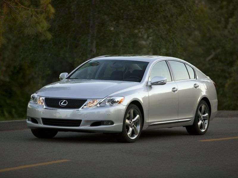 Lexus GS 3 generation [restyling] 4 door sedan. 300 AT Executive (2005–2012)