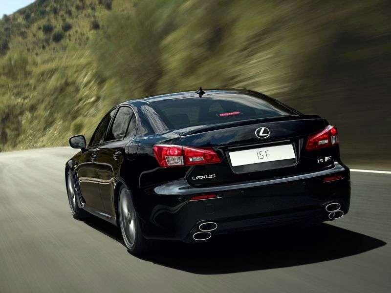 Lexus IS 2 generation [restyling] F Sport sedan 4 doors. 500 AT Luxury 3+ (2010–2013)