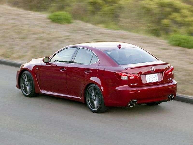 Lexus IS 2 generation F Sport sedan 4 doors. 500 AT Luxury (2008–2010)