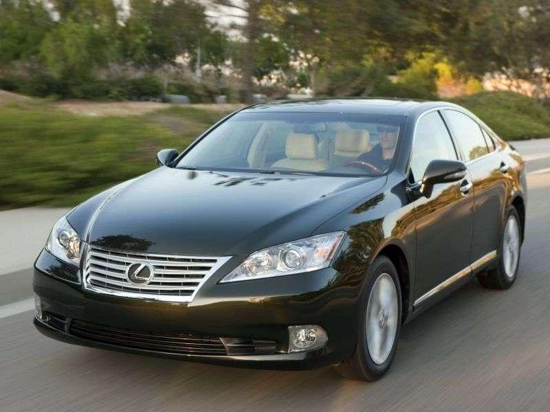 Lexus ES 5th generation [restyling] 350 AT Luxury sedan (2009–2012)