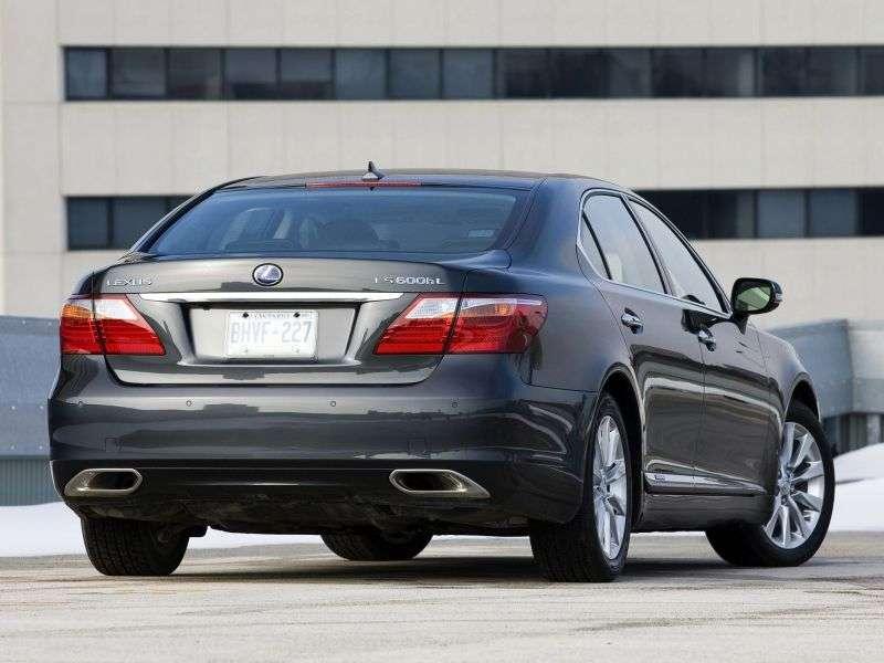 Lexus LS 4. generacji [zmiana stylizacji] 600h L sedan 4 drzwiowy. 600 godzin L CVT Exclusive 4 (2007 2012)