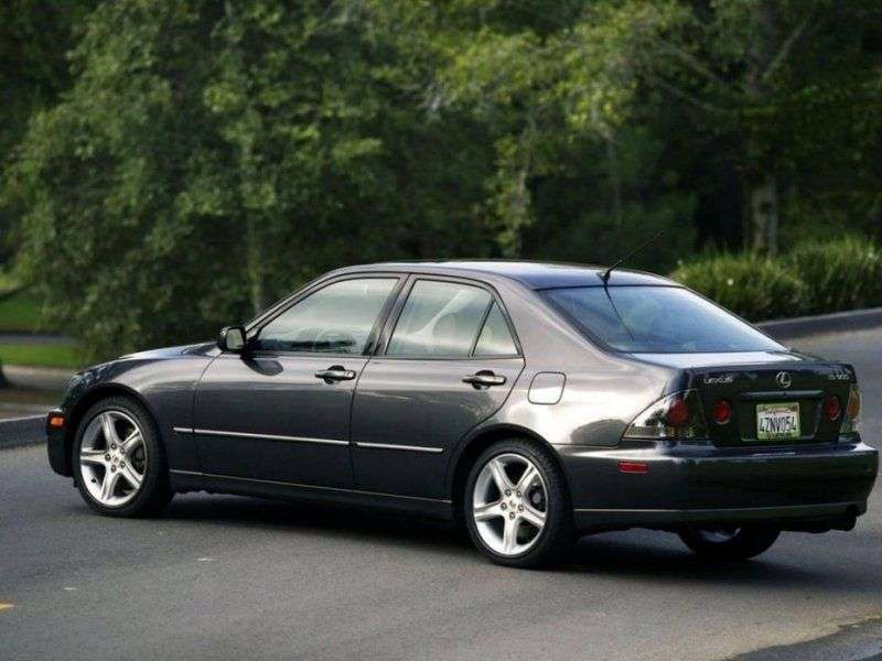 Lexus IS 1st generation 300 MT sedan (2001–2005)