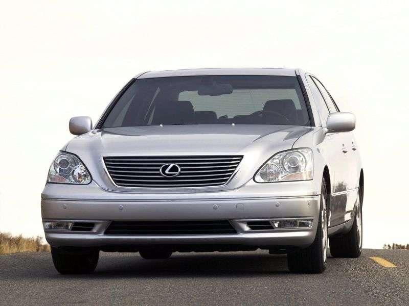 Lexus LS 3rd generation [restyled] sedan 430 AT (2000–2003)