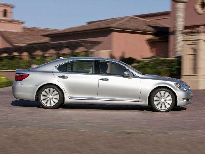 Lexus LS 4 generation [restyling] 460 4 d sedan. 460 AT AWD Premium (2006–2012)