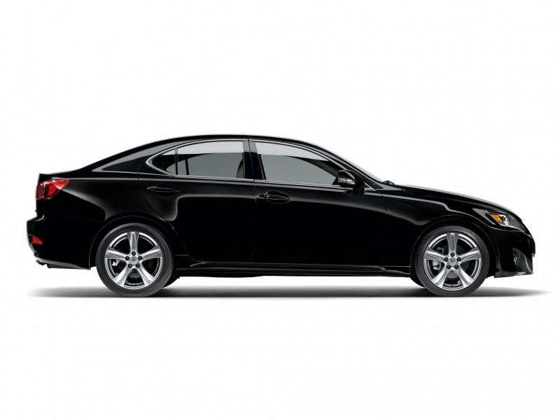 Lexus IS 2 generation [restyling] 4 door sedan. 250 AT Luxury (2010–2013)