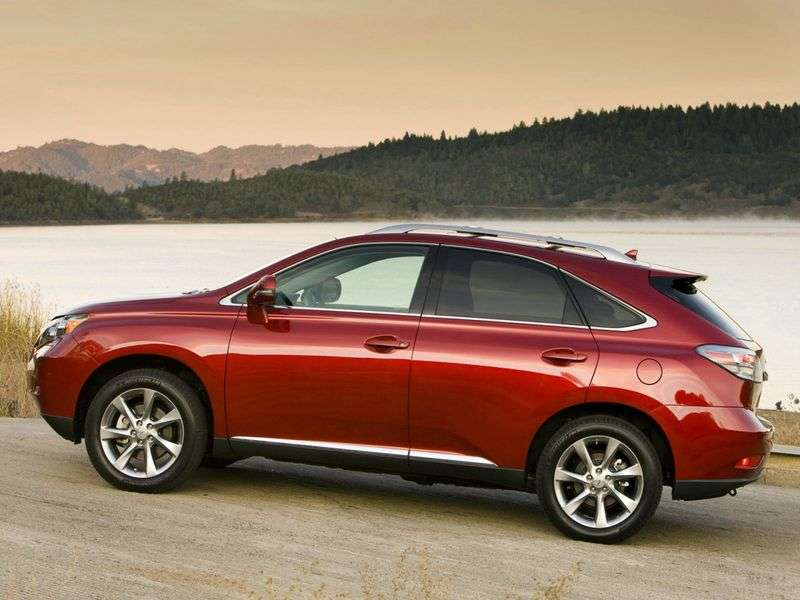Lexus RX 3 generation crossover 5 bit. 350 AT Executive (2009–2012)