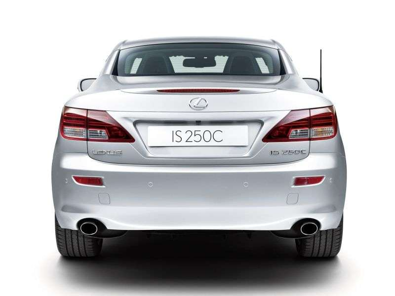 Lexus IS 2nd generation [restyling] 250C AT Premium convertible (2010–2013)
