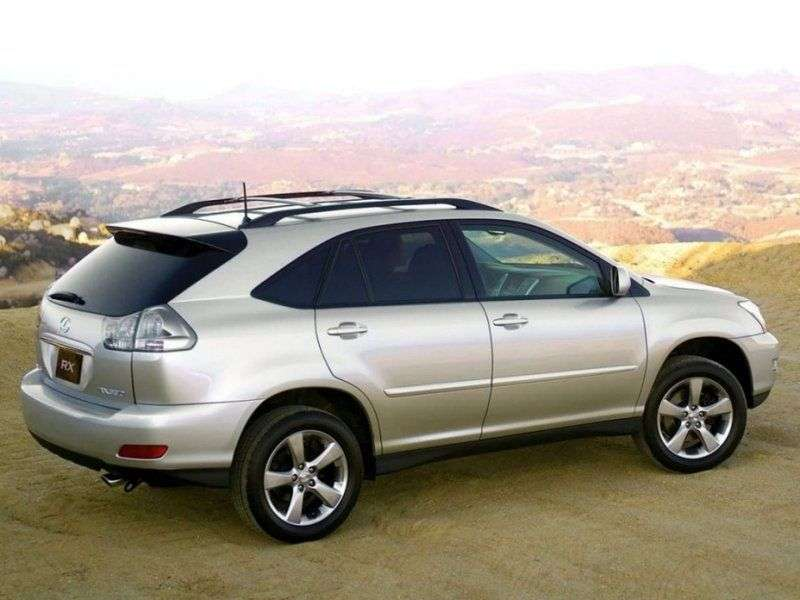 Lexus RX 2 generation crossover 300 AT (2003–2006)