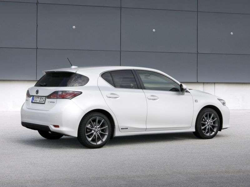 Lexus CT 1 generation F sport hatchback 5 dv. 200h CVT F Sport (2010 – present)
