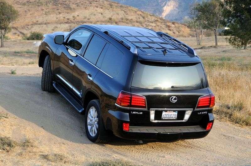 Lexus LX 3rd generation SUV 570 AT Luxury (2007–2012)