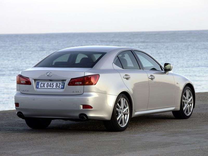 Lexus IS 2nd generation 4 door sedan 250 AT Comfort (2005–2010)