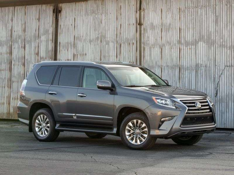 Lexus GX 2nd generation [restyled] SUV 4.6 AT AWD (5 seats) Executive (2013 – sevel)