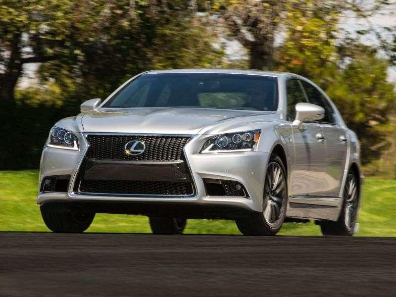 Lexus LS 4. generacji [2. zmiana stylizacji] F Sport sedan 4 drzwiowy. 600h CVT AWD Luxury (2012 obecnie)