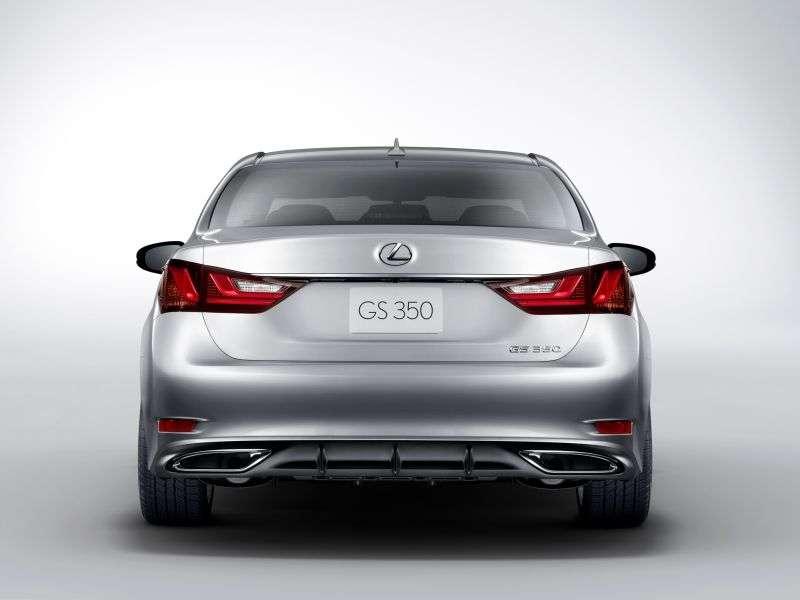 Lexus GS 4 generation sedan 4 doors 250 AT Executive (2011 – present century.)