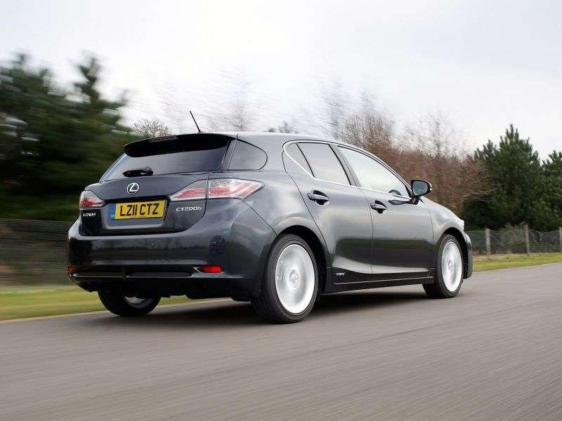 Lexus CT 1 generation hatchback 5 dv. 200h CVT Luxury (2010 – present)