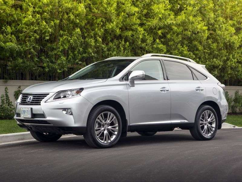 Lexus RX 3 generation [restyling] 5 bit crossover. 270 AT Comfort (2012 – n. In.)
