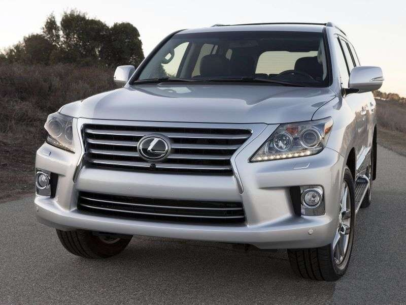 Lexus LX 3rd generation [restyled] SUV 570 AT Luxury (2012 – n.)