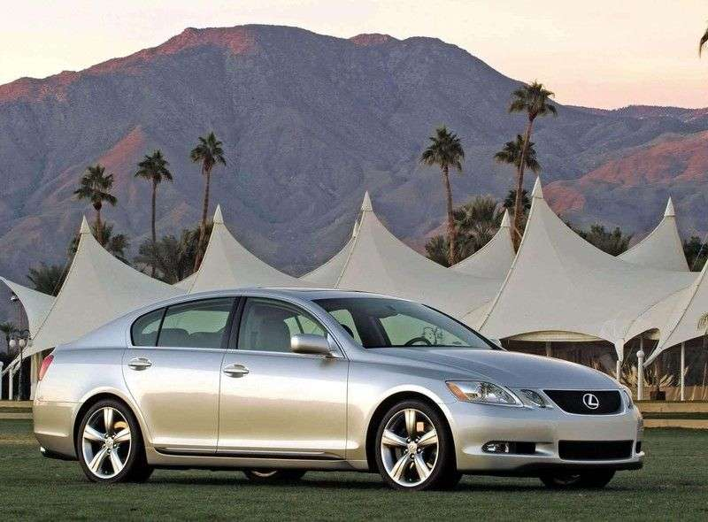 Lexus GS 3 generation sedan 460 AT (2007–2008)