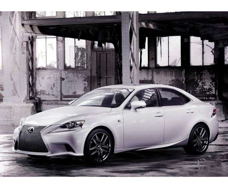 Lexus IS 3 generation F Sport sedan 4 doors. 250 AT Executive (2013 – present)