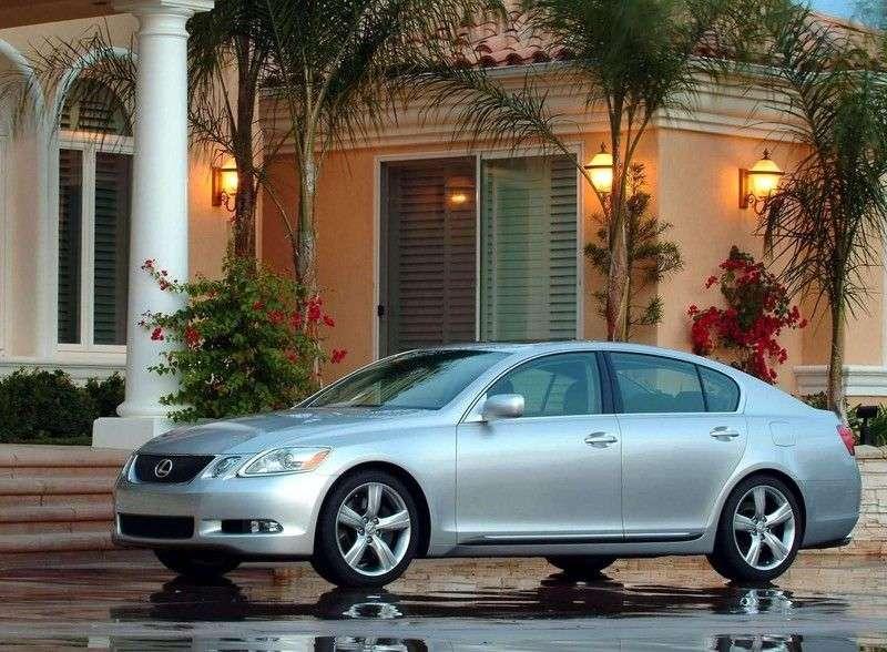 Lexus GS 3 generation sedan 450h CVT (2005–2008)