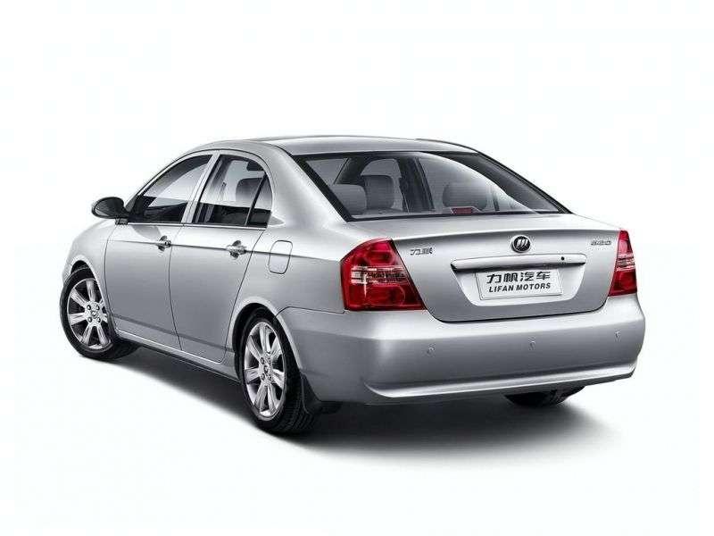 Lifan Solano 1.generacji sedan 1.6 MT DX (2009 obecnie)