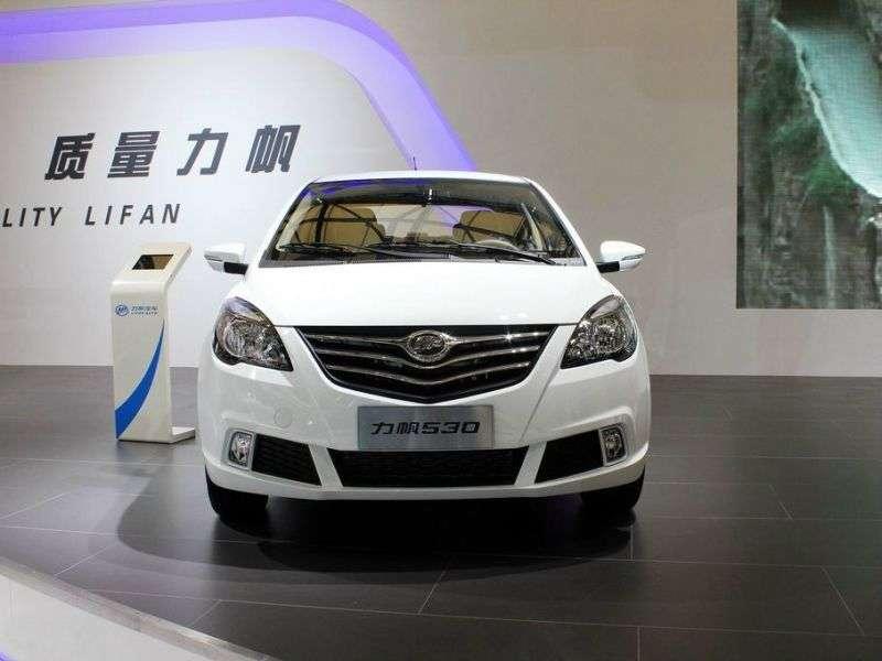 Lifan Breez 1st generation [2nd restyling] sedan 1.5 MT (2013 – v.)