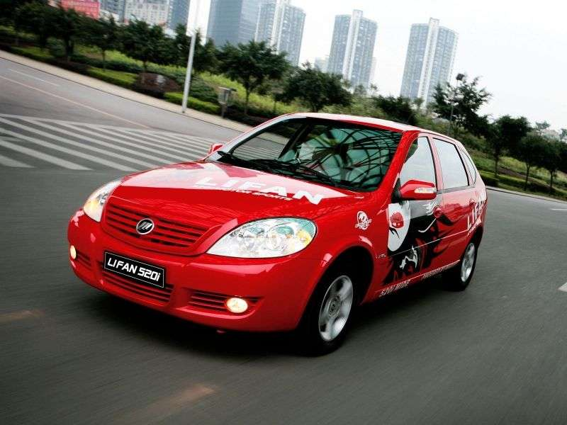 Lifan Breez 1st generation hatchback 1.6 MT AX (2006 – n.)