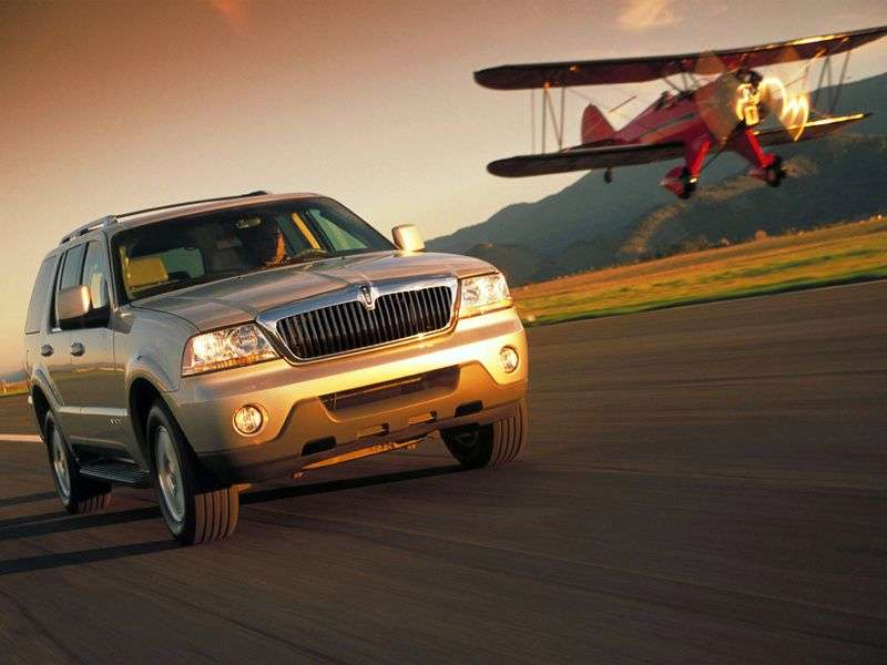 Lincoln Aviator 1st generation SUV 4.6 AT (2003 – N)