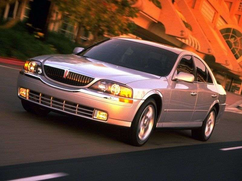 Lincoln LS 1st generation sedan 4.0 AT (1998–2006)