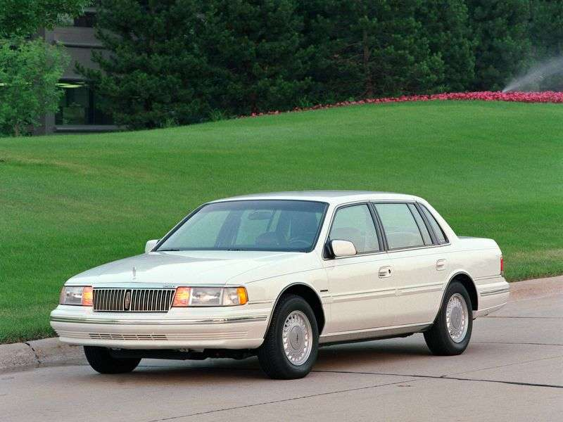 Lincoln Continental 8th generation sedan 3.8 AT (1988–1994)