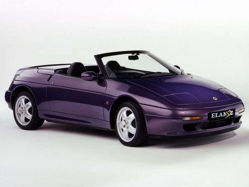 Lotus Elan 2nd generation convertible 1.6i MT Turbo (1989–1992)