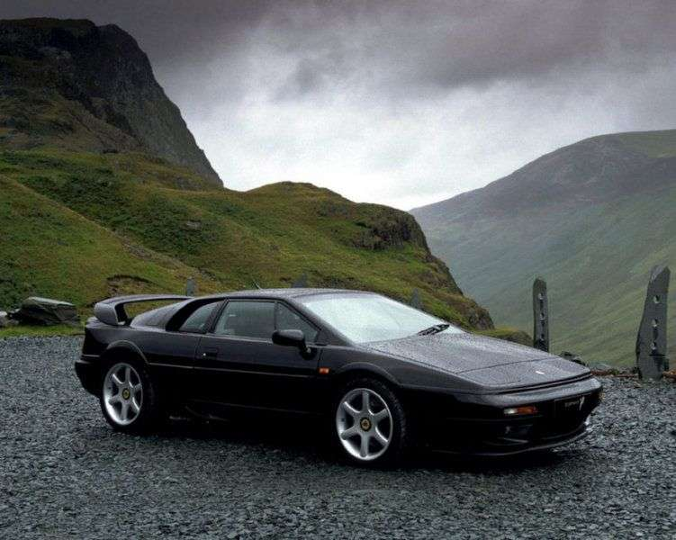Lotus Esprit 5 generation coupe 2.2 MT Turbo (1996–1998)