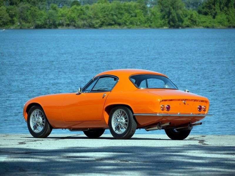 Lotus Elite 1st generation coupe 1.2 MT (1957–1963)