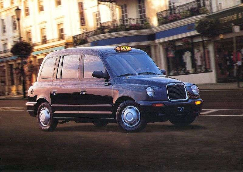 LTI TX TX1 sedan 2.7 D MT (1998–2002)