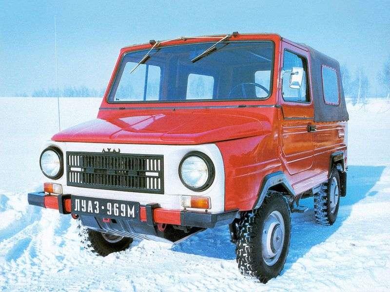 LuAZ 969 1st generation SUV 1.2 MT (1979–1990)