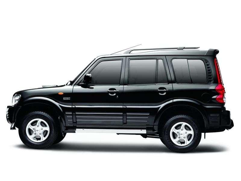 Mahindra Scorpio 1st generation SUV 2.6 D MT (2002 – n. In.)