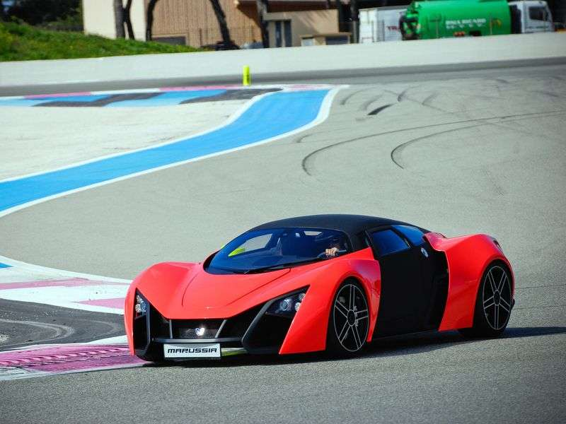 Marussia B2 1st generation coupe 3.5 AT (2013 – n. In.)