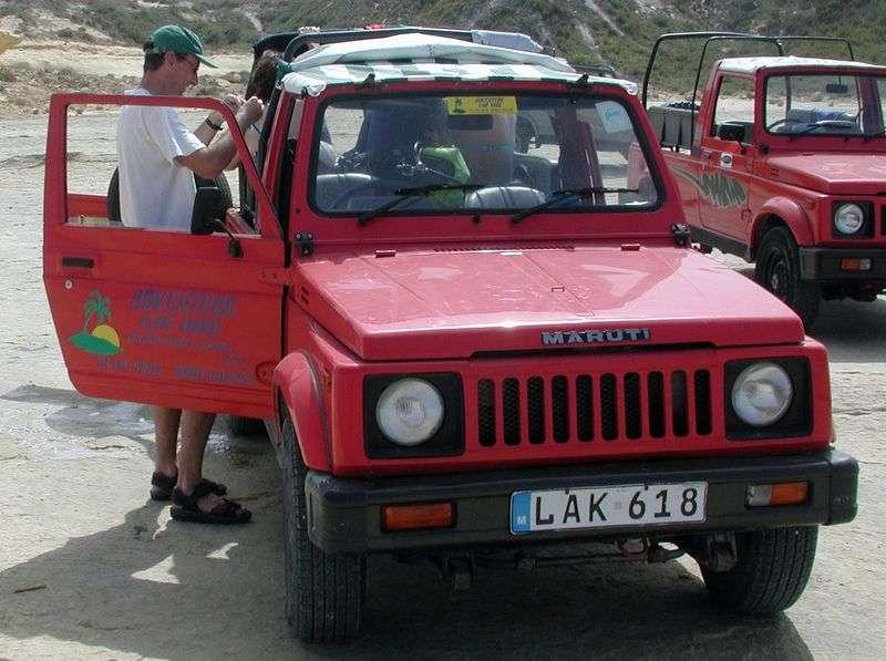 Maruti Gypsy 1st generation 1.3 MT Gypsy King crossover (1998 – n.)