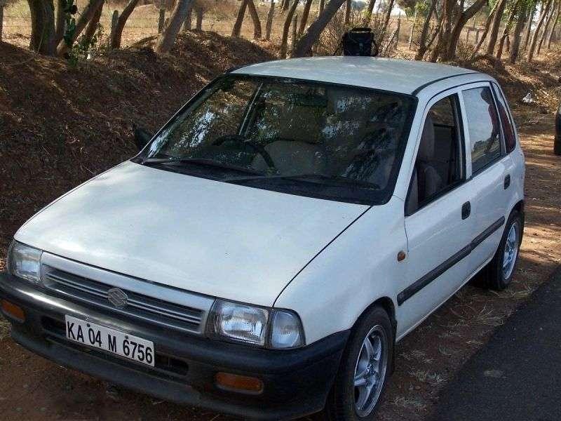 Maruti Zen 1st generation hatchback 1.0 MT (1999–2002)