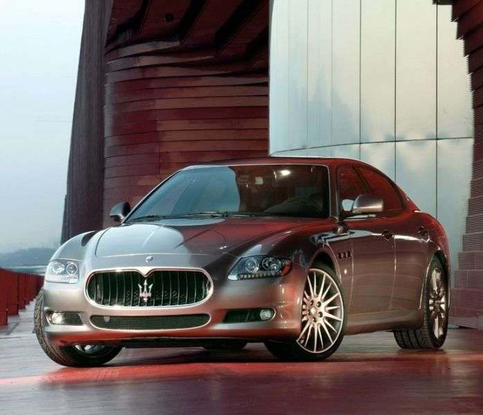 Maserati Quattroporte 5th generation [restyling] Sport GT S 4 door sedan. 4.7 AT (2008–2012)