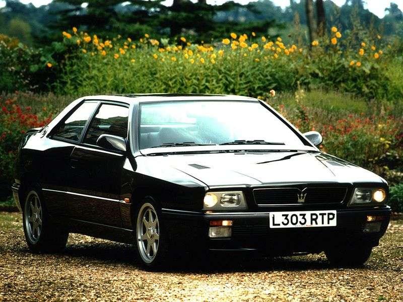 Maserati Ghibli 2nd generation coupe 2.8 Biturbo MT (1992–1997)