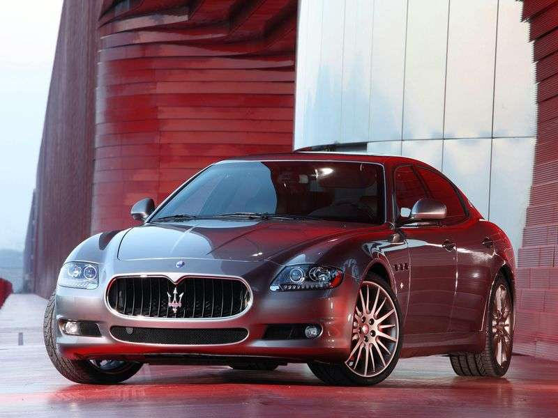 Maserati Quattroporte 5th generation [restyling] S 4 door sedan. 4.7 AT (2008–2012)