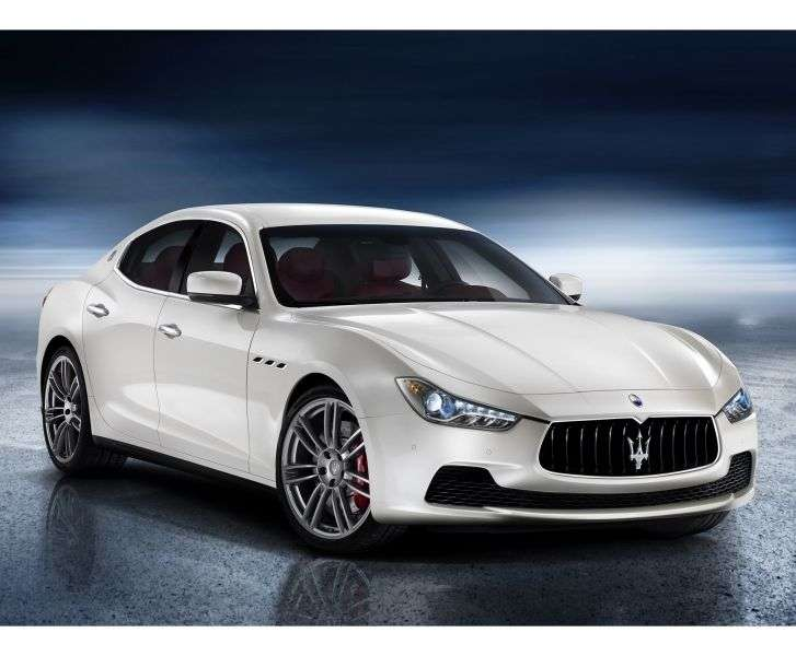 Maserati Ghibli 3rd Generation Diesel 3.0 V6 AT Basic Sedan (2013 – n.)