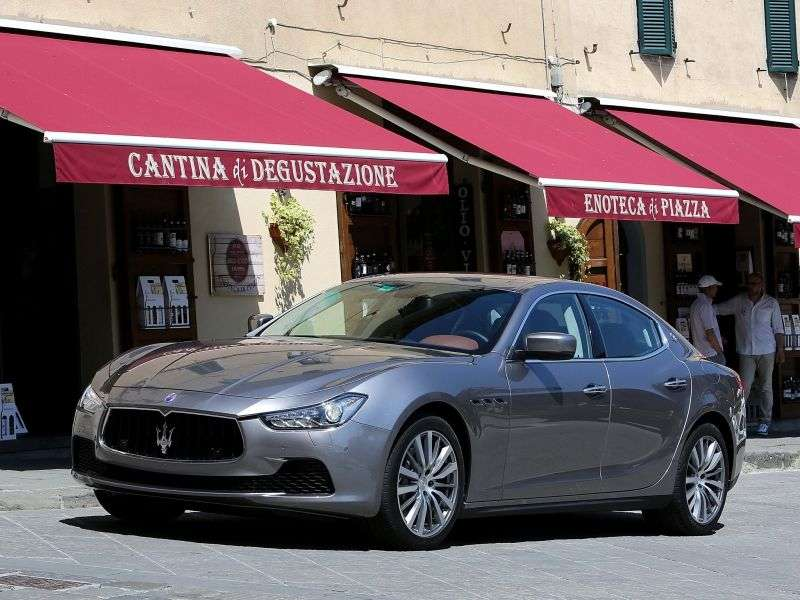 Maserati Ghibli 3rd generation sedan S 3.0 V6 AT Basic (2013 – v.)