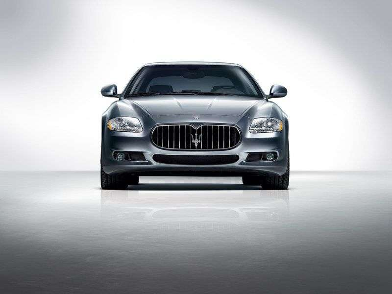 Maserati Quattroporte 5th generation [restyling] 4 door sedan. 4.2 AT (2008–2012)