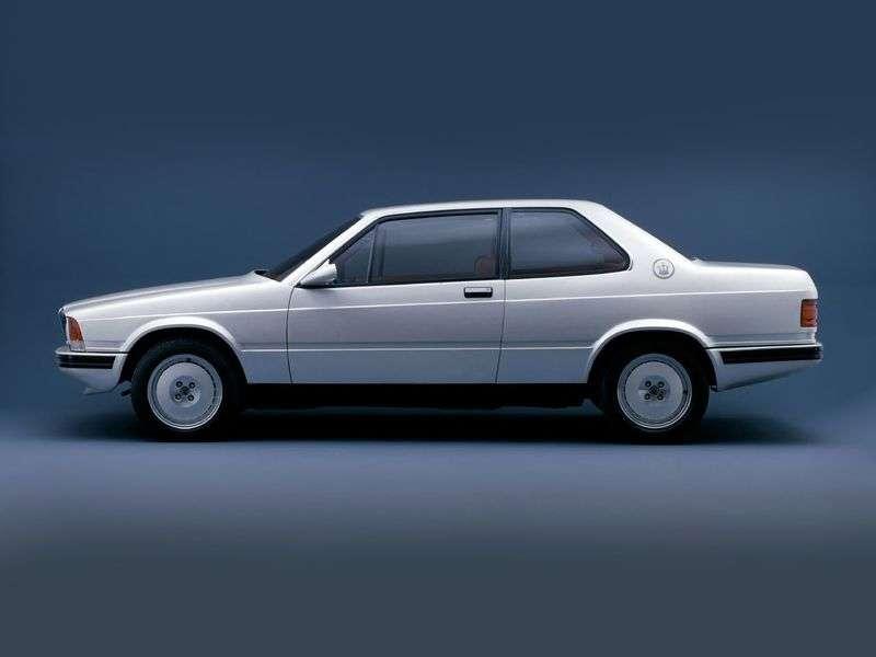 Maserati 228 1st generation coupe 2.8 Turbo MT (1986–1992)