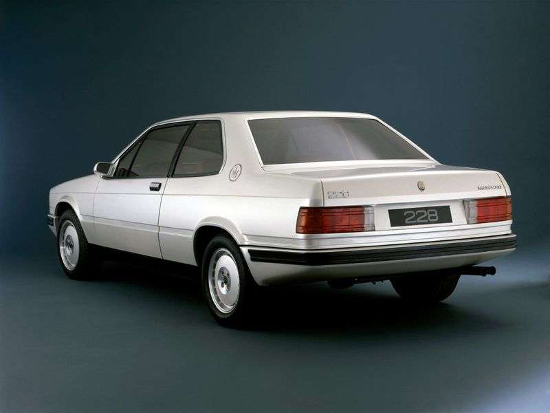 Maserati 228 1st generation coupe 2.8 Turbo MT (1986–1992)