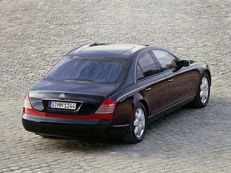 Maybach 57 1st generation sedan 6.0 AT (2005–2010)